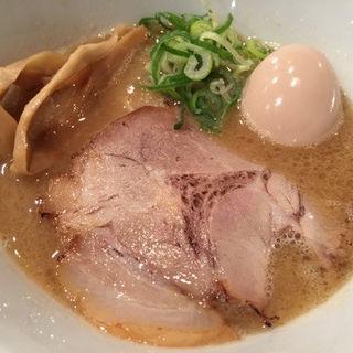 鶏白湯らーめん(並)+卵(キラメキノトリ)