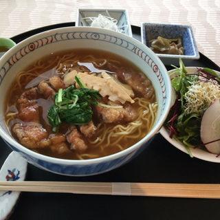 一度は食べたい米澤豚のパーコー麺(ポルトフィーノ アラマンダ青山)