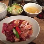 土曜・祝日限定スペシャルランチ KINTAN 焼肉セット