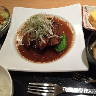 四万十ポーク米豚のソテー ~ジンジャーソース~(おきゃく )