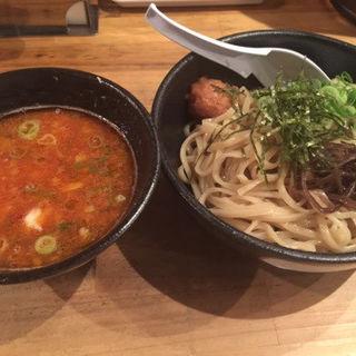 鶏つけそば 旨辛鶏白湯スープ(辛め)(麺屋 こいけ )