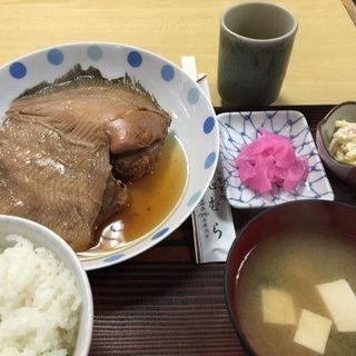 子持かれい煮付定食( 志むら (しむら))