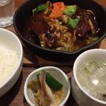 ホイコーロー豆腐定食(チャイナ ダイニング サクラ (China Dining SAKURA))
