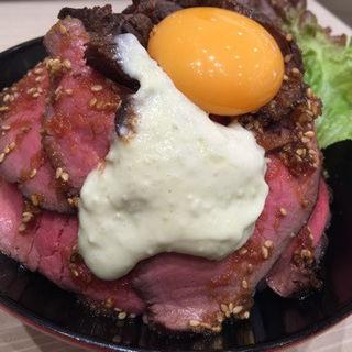 ローストビーフ丼(ポジャギ )