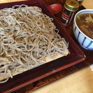 鴨汁蕎麦(手打ち蕎麦 彦 (てうちそば げん))