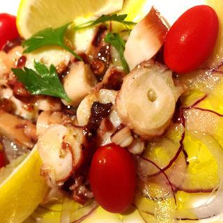 蛸のマリネサラダ(Grill & Kitchen かぼちゃの馬車 (かぼちゃのばしゃ))