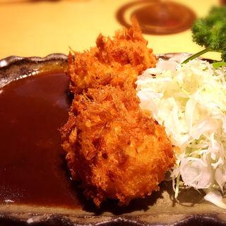 海老クリームコロッケ(Grill & Kitchen かぼちゃの馬車 (かぼちゃのばしゃ))