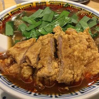 排骨ニラそば(5辛)(希須林 担々麺屋 赤坂店 (キスリン タンタンメンヤ))