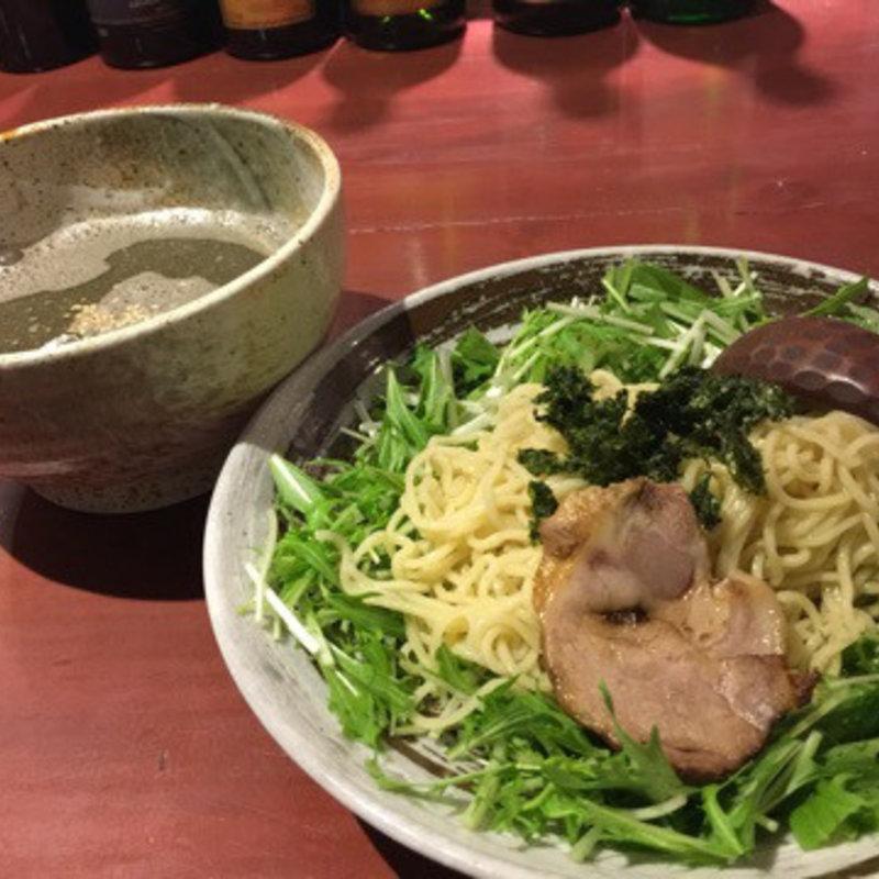 黒だれ煮干しつけ麺