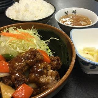 酢豚定食(芳葉 )