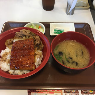 うな牛シジミおしんこセット(すき家 7号にかほ店 )