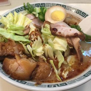 特製ラーメン (桂花ラーメン 新宿東口駅前店 (けいからーめん))