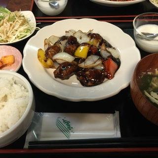 黒酢スブタ(四川DINING 望蜀瀘 )