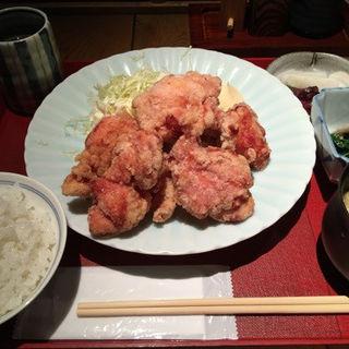 鶏の唐揚げ膳(ひかり屋本店 赤坂 )