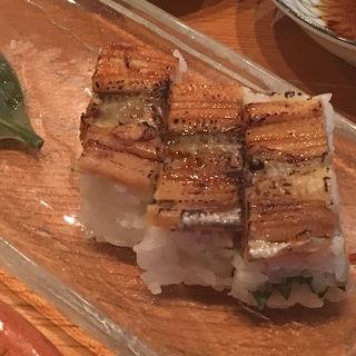 アナゴの押し寿司(赤鬼 本店 )
