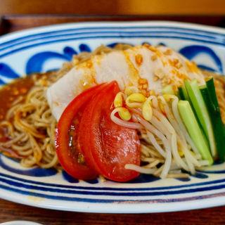 よだれ鶏の冷し麺(山椒麺)(原宿はしづめ)