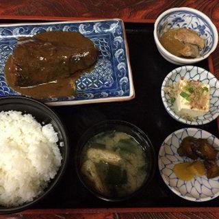 鯖味噌煮定食(高はし )