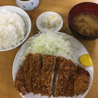 上ロースカツ定食(いちかつ )