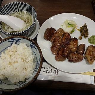 霜降り定食(塩味)(たんや十兵衛 シャポー市川店 )