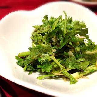 パクチー醤油和え(チィナ (CHI・i・NA))