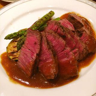 佐賀牛のフィレステーキ(煮たり焼いたり (にたりやいたり))