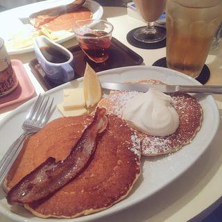 ホイップクリーム&レモンの薄もちパンケーキ(APOC (アポック))