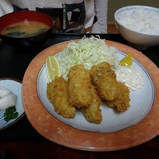 カキフライ定食(と味田 )