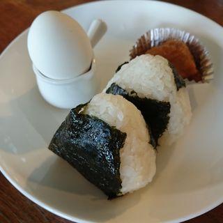 おにぎりランチ(Café駄菓子の ゑ。)