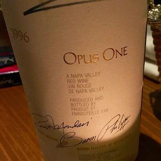 Opus One 1996(Wine & Bar Oka)
