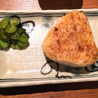 焼きおにぎり(串八珍 茅場町店 (くしはっちん))