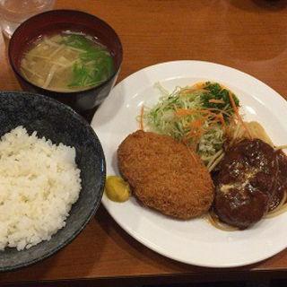 シチューハンバーグ・ポテトミートコロッケ(遊季亭 )