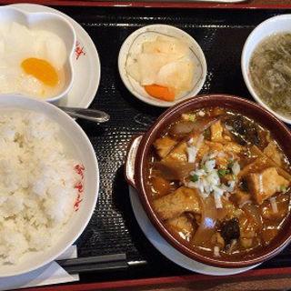日替わり・揚げ豆腐の香味炒め(阿里城 晴海トリトンスクエア店 )