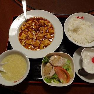 麻婆豆腐定食(阿里山城 ランドマークタワー店 )
