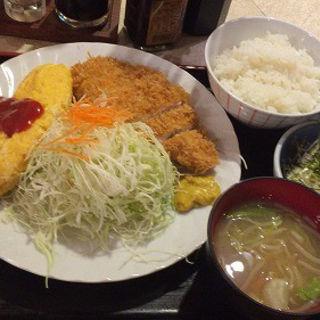 チキンカツ・オムレツ(レストラン 千味 )