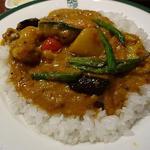 野菜カリー サラダドリンク付きセット(Manna (新宿中村屋 マンナ))