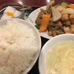 鶏肉と野菜の醤油炒め