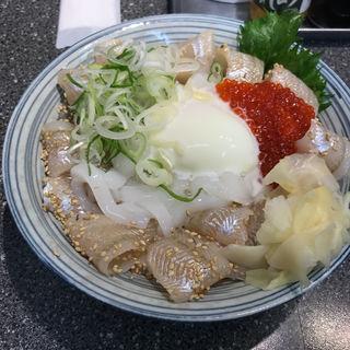 白ハタの昆布じめ丼(山芳亭 )