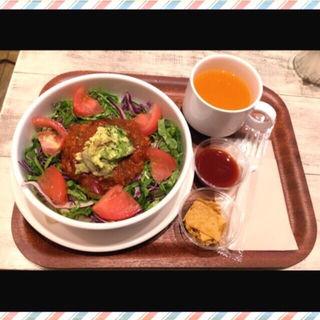 大豆ミートのタコライス(SAMBAZON AÇAÍ CAFE (サンバゾン・アサイーカフェ【旧店名】アイランドベジー))