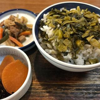 高菜ごはん(山小屋 )