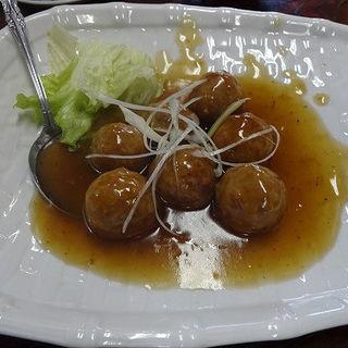 トマトの肉団子(酔来軒)