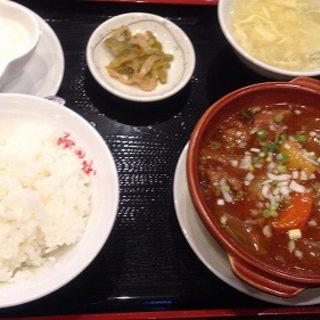牛肉とジャガイモ炒め