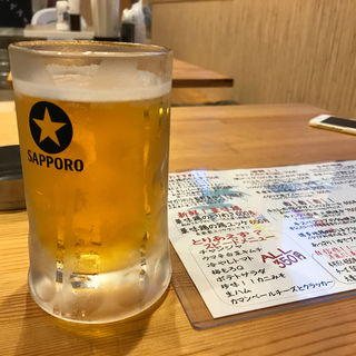 サッポロ生ビール(海がすき)