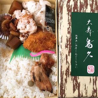 折詰7号弁当(大森鳥久 (おおもりとりきゅう))