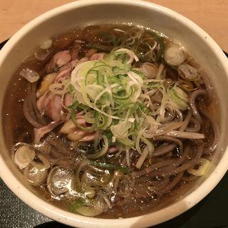 冷たい肉そば(山形蕎麦 やま久 )