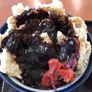 ブラックカレー天丼(てんや 仙台六丁の目店)