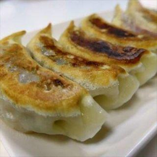 ラム肉の焼き餃子(味坊)