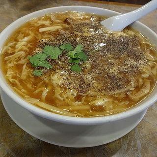 サンラータン麺(蓬莱閣)