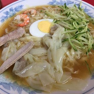 冷麺 ワンタン入(呉龍 )