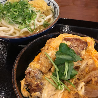 カツ丼定食(丸亀製麺 伊丹南町店 )