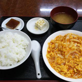 エビと玉子チリソースランチ(福門飯店)